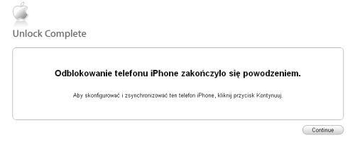 Odblokowanie na sta³e Iphone 2G 3G 3GS 4 simlock