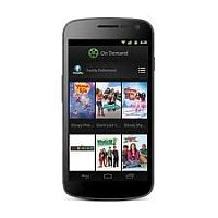 Usuñ simlocka kodem z telefonu Samsung Galaxy Nexus Telus