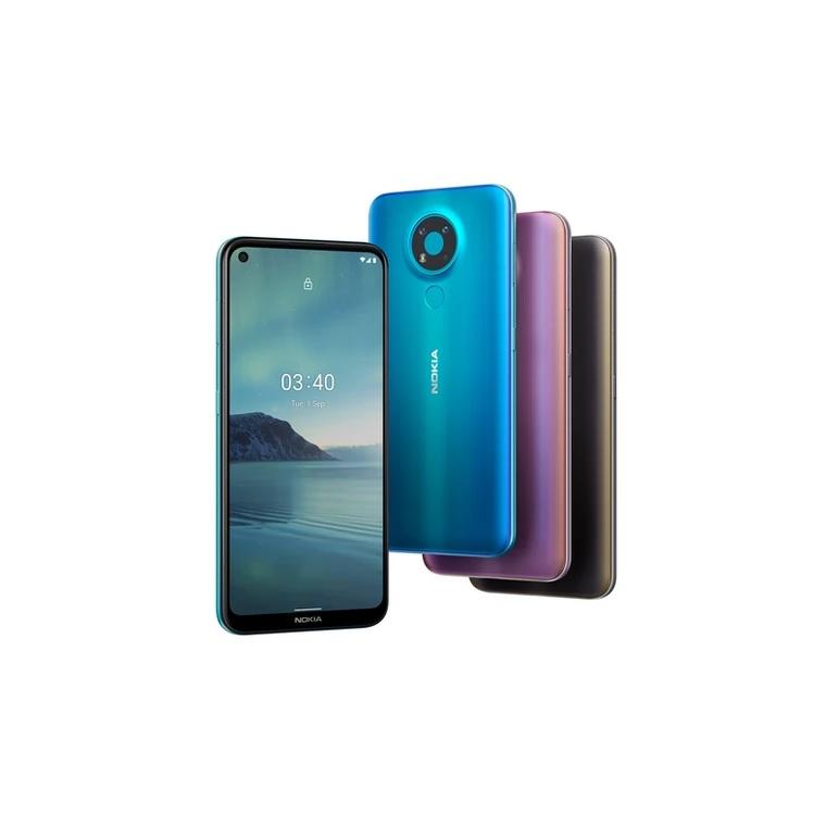 Nokia 5.4, kolory, fragment specyfikacji