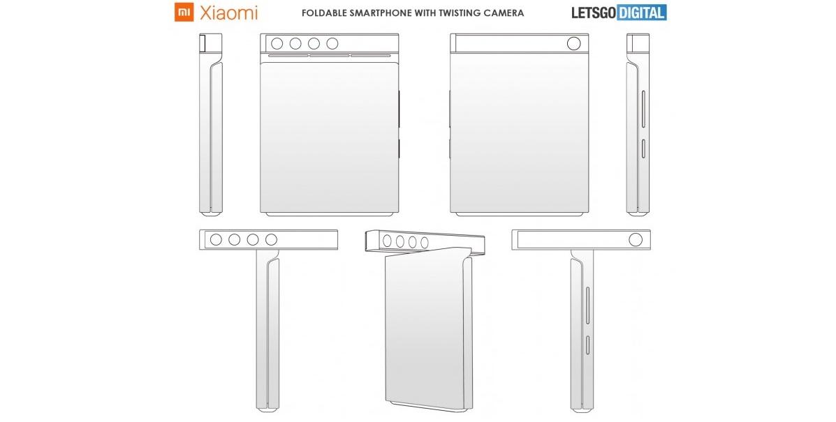 Nowe plany Xiaomi: zginany telefon, obrotowy aparat fotograficzny