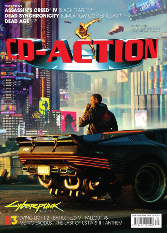 Najnowszy numer CD-Action bez p³yt z grami