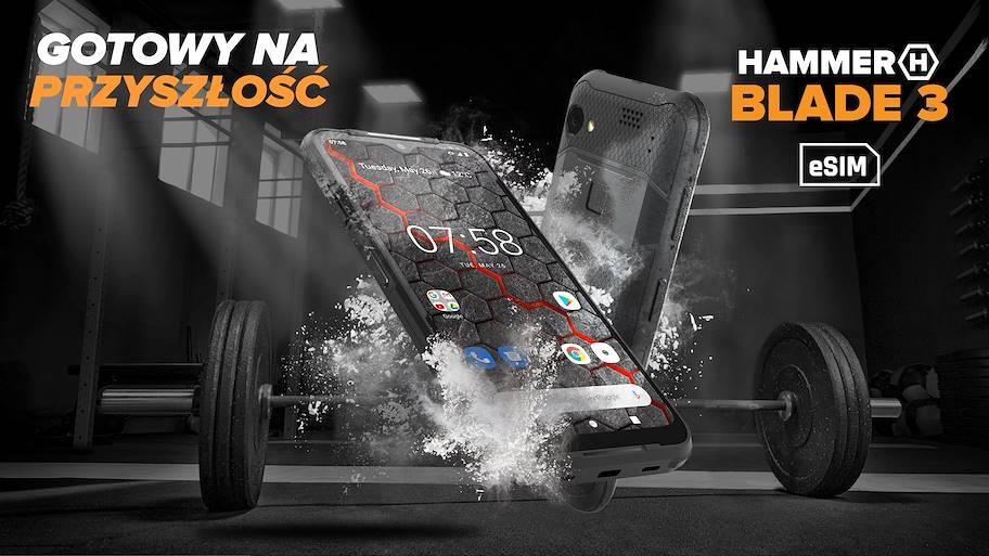 HAMMER Blade 3, debiut kolejnego wzmocnionego smartfona