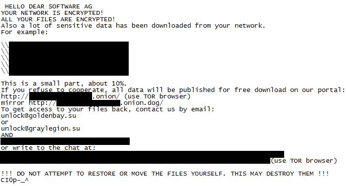 Hakerzy zaatakowali firmê Software AG. Zablokowali jej komputery, teraz ¿±daj± 20 milionów okupu