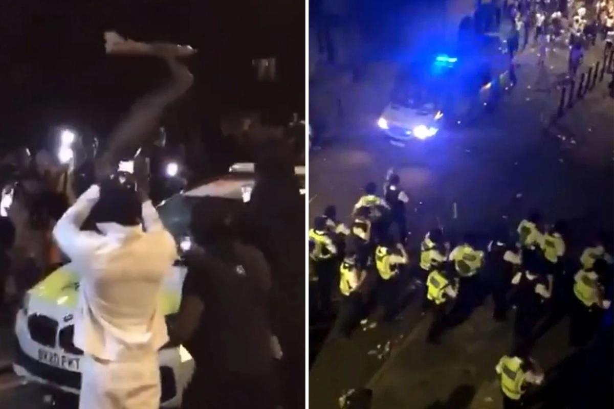 Brutalne zamieszki w Londynie. Ranni policjanci