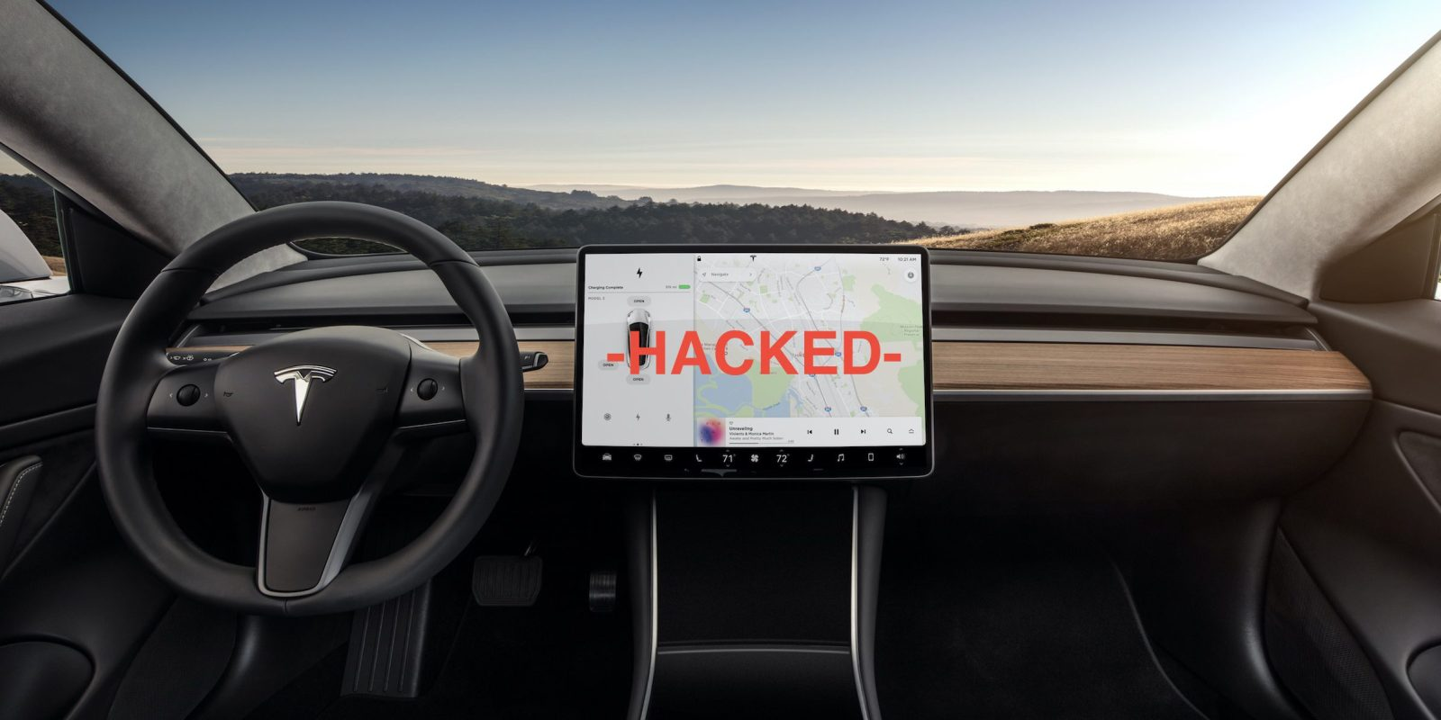 Hakerzy u¿yli pada do gier, by przej±æ kontrolê nad samochodem Tesla