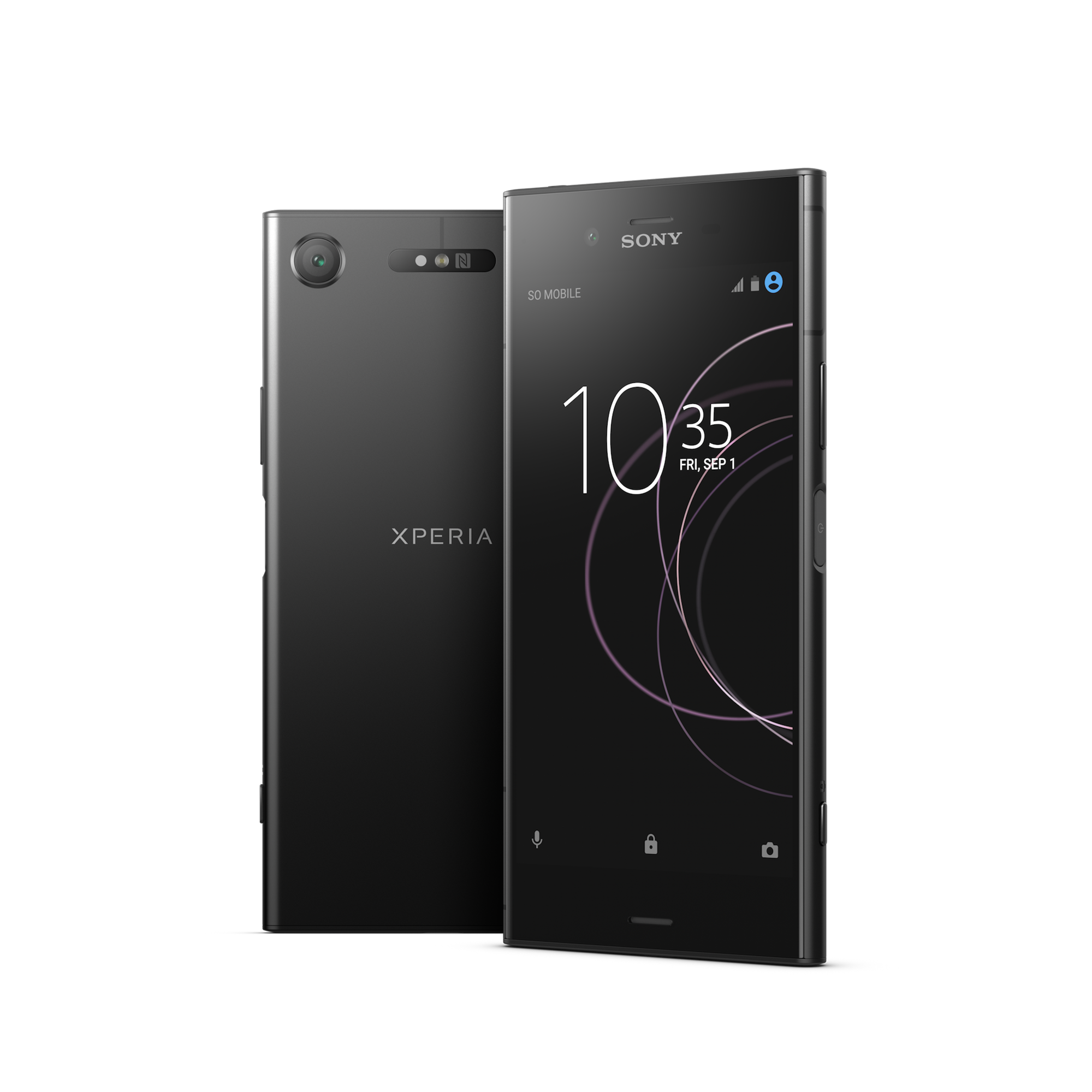 Sony Xperia XZ1 w czerni do kupienia o 200 pln taniej