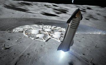 Starship, czyli prototyp wielozadaniowego statku kosmicznego Elona Muska, zaprezentowany