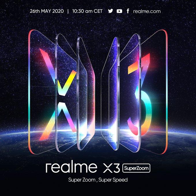 Realme X3 SuperZoom trafi do Europy ju¿ 26 maja