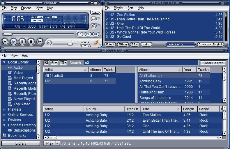 Winamp 5.8, czyli pierwsza aktualizacja tego programu od lat