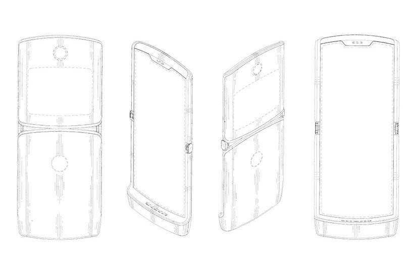 Motorola opatentowa³a projekt nowego Razr