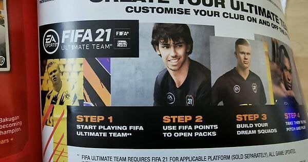 EA nie daje siê lubiæ. Reklamuje punkty FIFA w czasopi¶mie o zabawkach dla dzieci