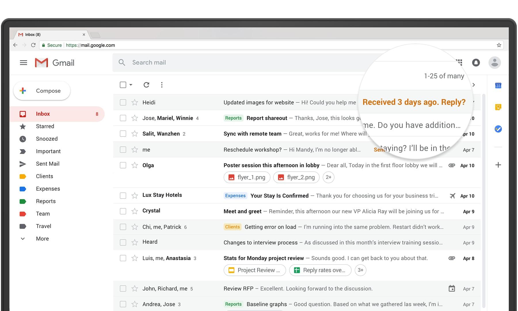 Nowy Gmail tu¿ za rogiem. Nowy design, nowe funkcje