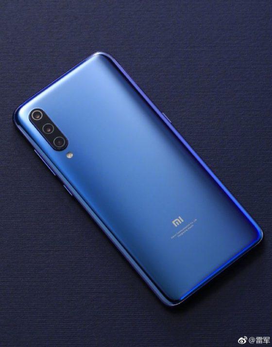 Oficjalne rendery plecków Xiaomi Mi 9
