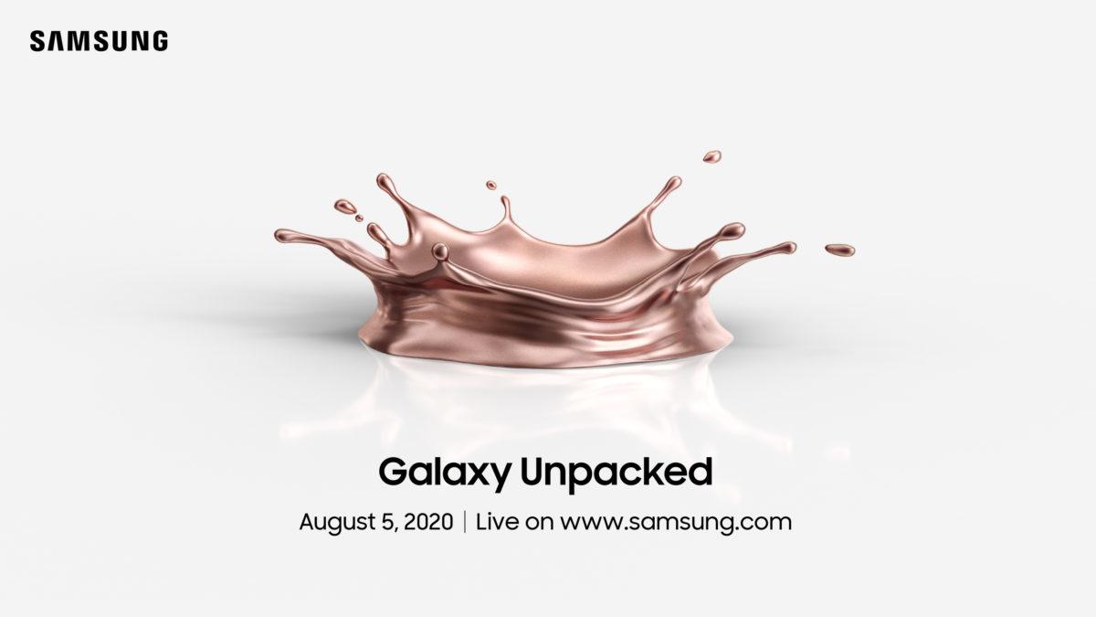Okay, moi mili, koniec spekulacji. Samsung Galaxy Note 20 zostanie wydany 5 sierpnia