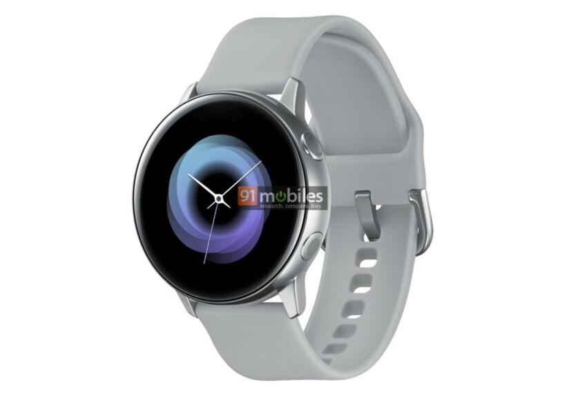 Wyciek³y render smartwatcha Samsung Galaxy Sport