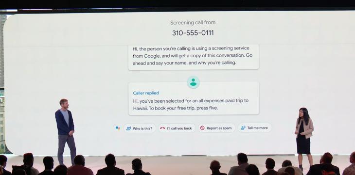 Call Screen, czyli twój telefon sam odpowie telemarketerom