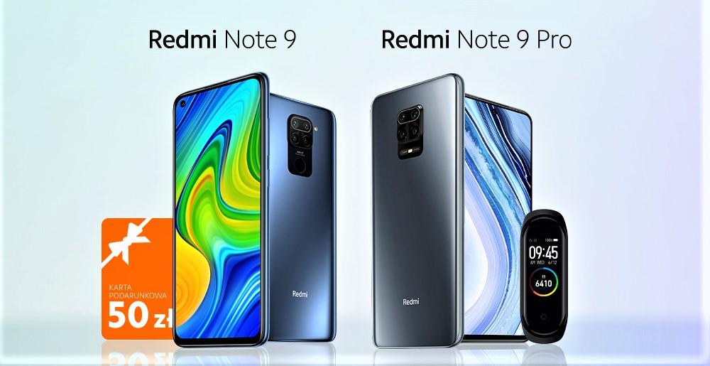 Redmi Note 9 i Redmi Note 9 Pro dostêpne w Polsce
