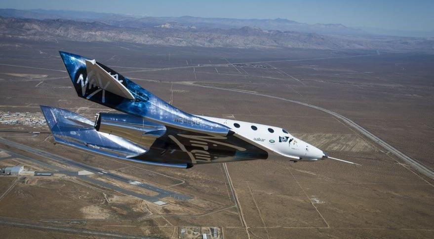 Virgin Galactic ma za sob± pierwszy testowy lot swojego statku kosmicznego