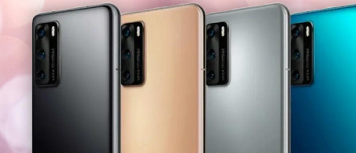 Huawei P40 i P40 Pro dostêpne bêd± w piêciu wariantach kolorystycznych