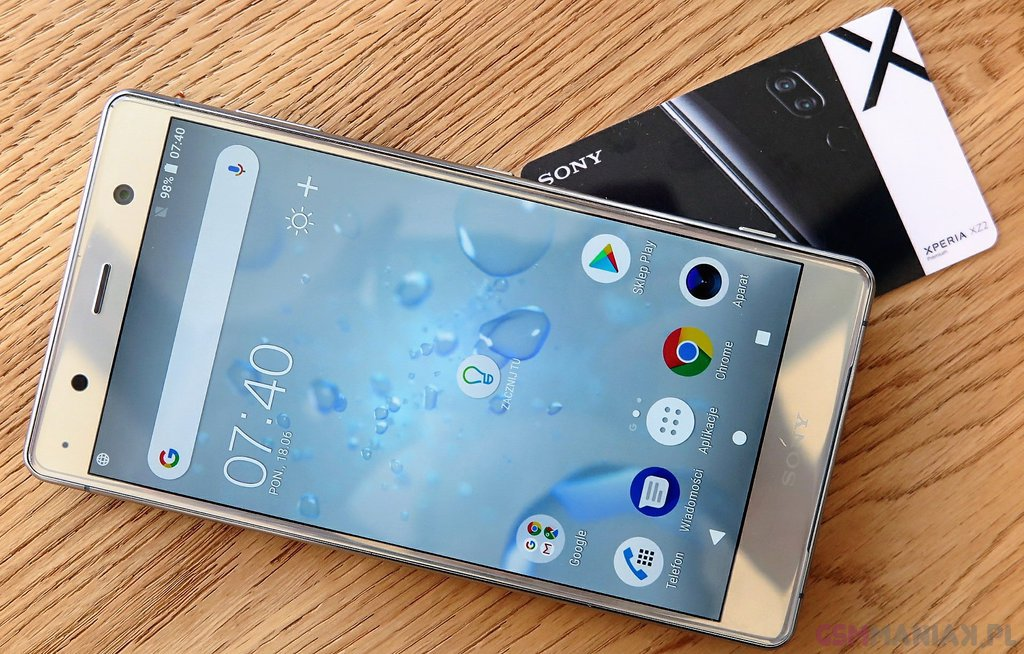 Sony Xperia XZ2 Premium do kupienia w Polsce, czyli ekskluzyw za cztery ko³a