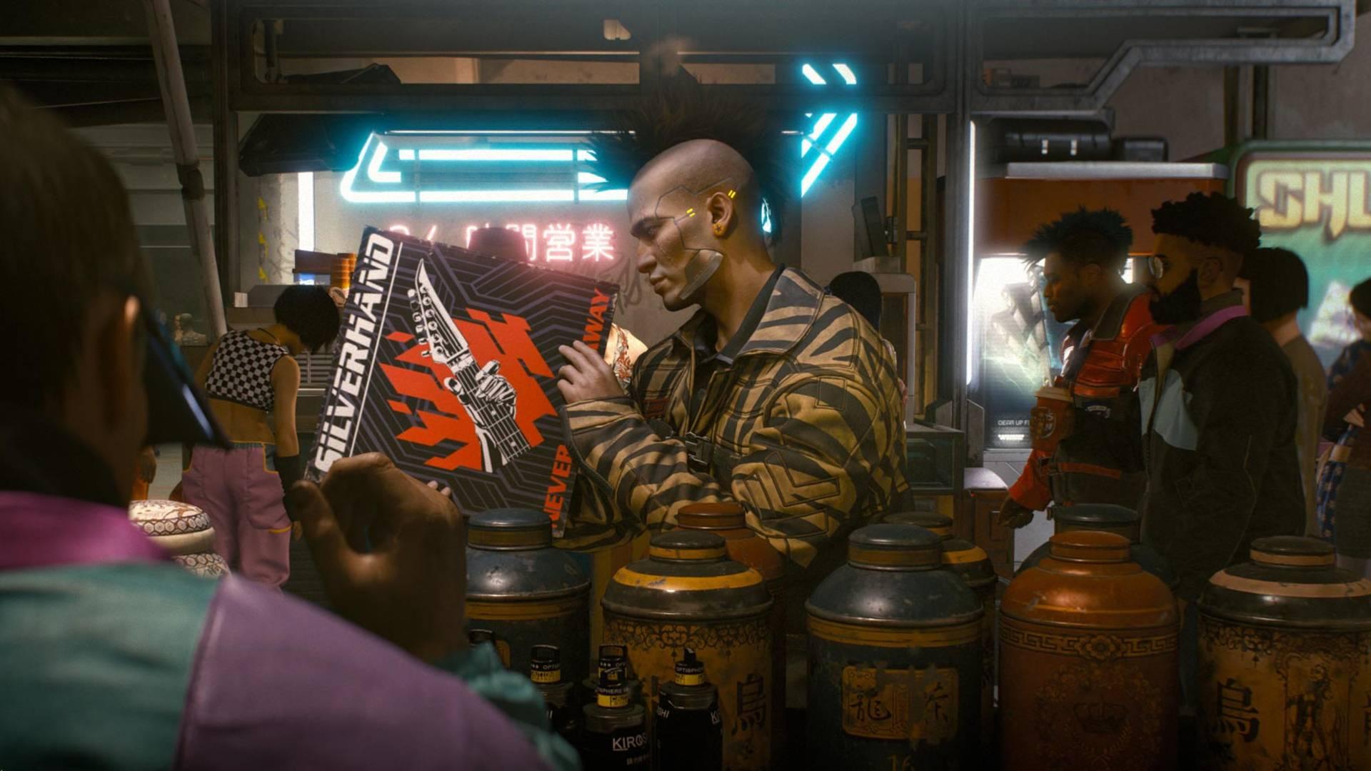 Cyberpunk 2077, najnowsze filmiki