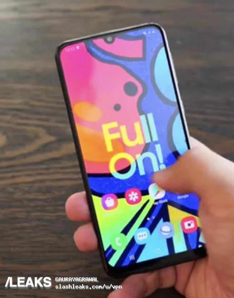 Oficjalny teaser Samsung Galaxy F41