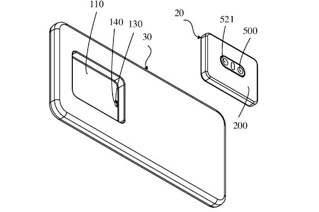 Oppo z³o¿y³o patent smartfona z od³±czalnym aparatem fotograficznym