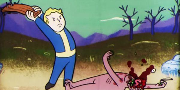 Chcia³ zwróciæ Fallouta 76 w sklepie. Sklep nie przyj±³ gry, wiêc go zdemolowa³