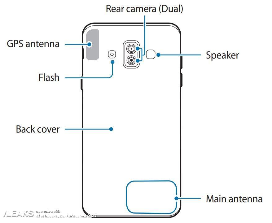 Wyciek³y zdjêcia z instrukcyjej Galaxy J7 Duo, potwierdzaj± kilka ficzerów telefonu