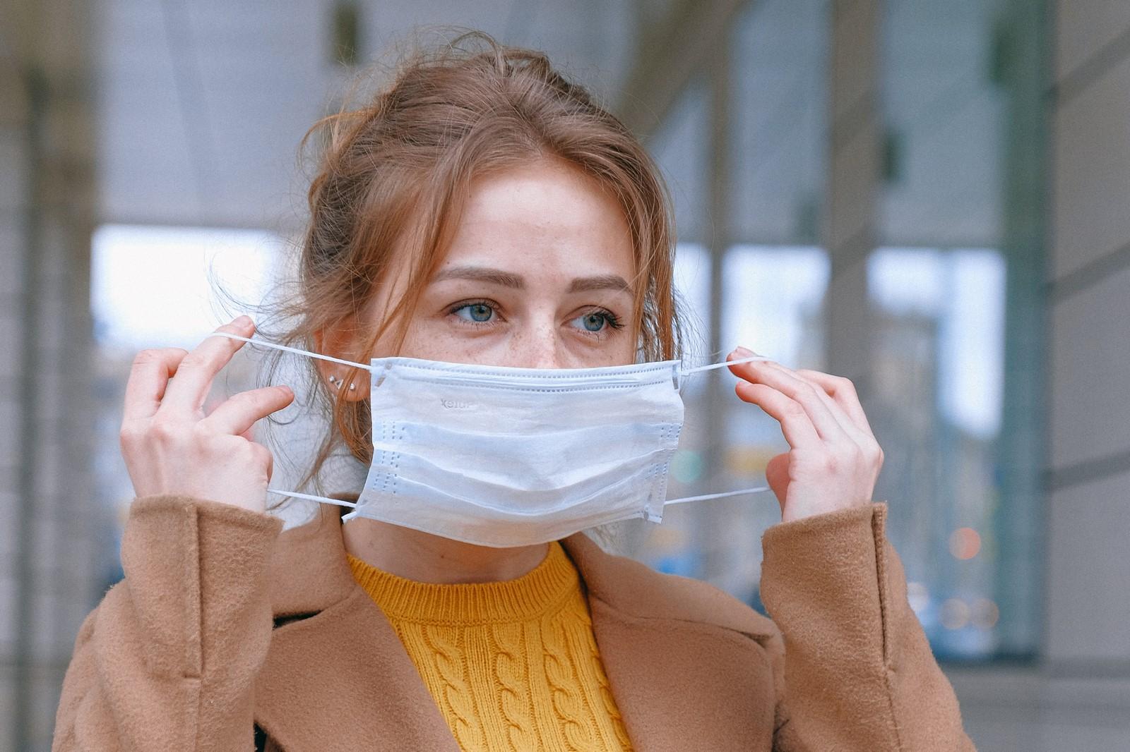Ro¶nie wysoko¶æ mandatu za brak maski ochronnej w miejscu publicznym