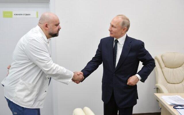 Wladimir Putin mia³ kontakt z chorym na COVID-19