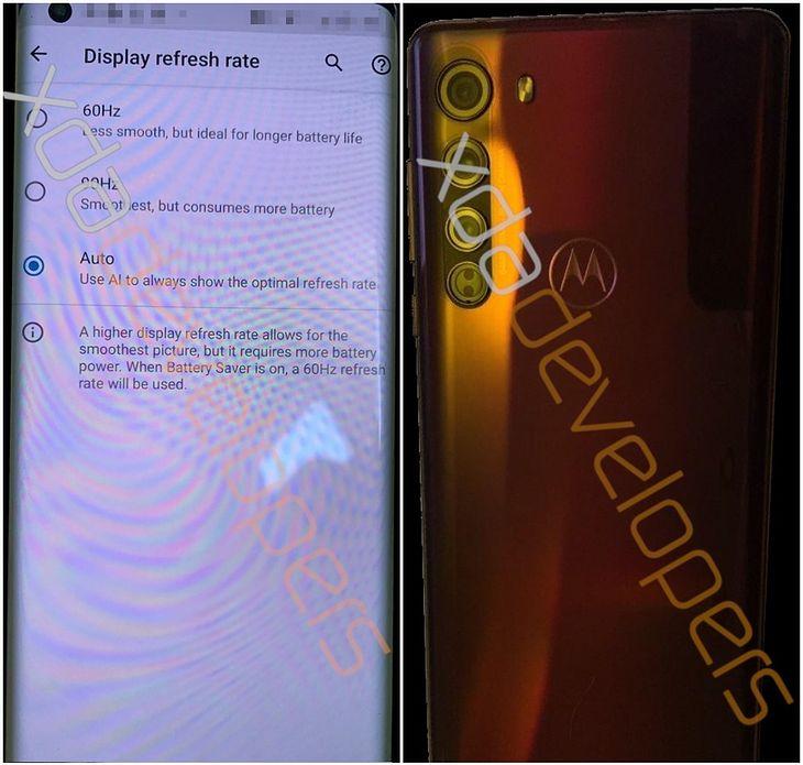 Motorola Edge, zdjêcia i specyfikacja