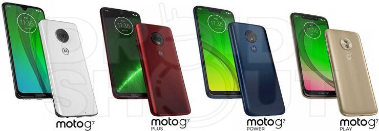 Przedstawiamy ca³± rodzinê telefonów - Motorola Moto G7
