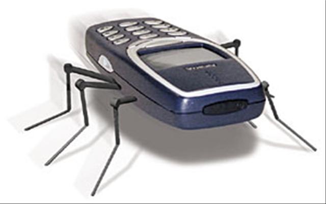 """Zabugowany"" telefon"