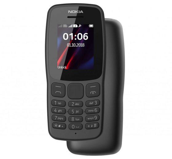 Nokia 106 (2018), czyli powrót tak jakby klasyka