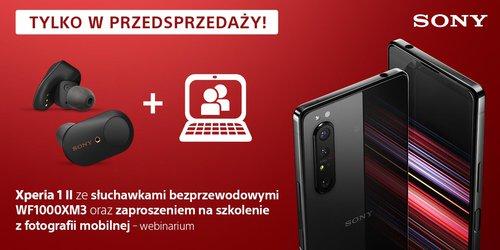 Sony Xperia 1 II trafi³a do polskiej przedsprzeda¿y