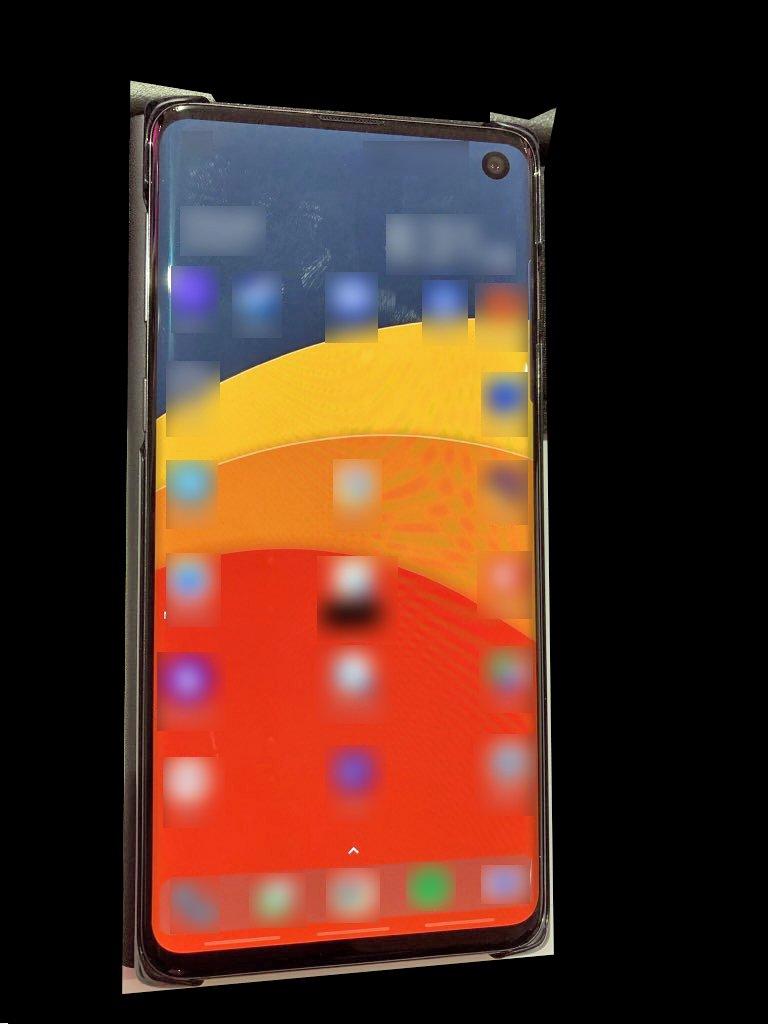 Wyciek³o podobno prawdziwe zdjêcie Samsung Galaxy S10