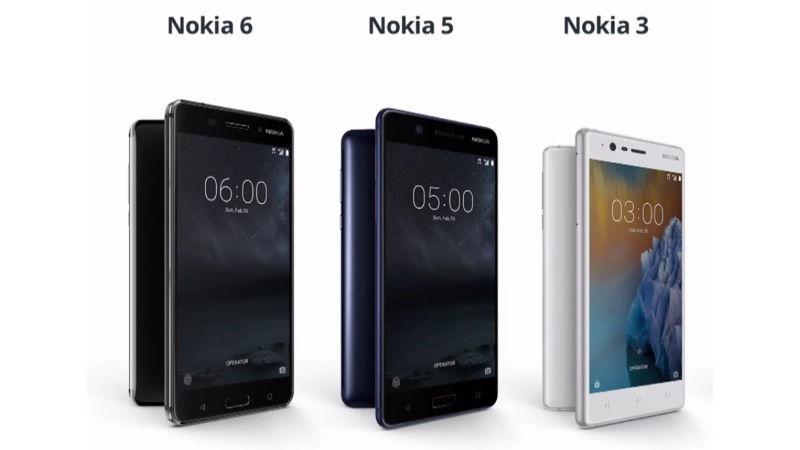 HMD potwierdza: Nokia 3, 5 i 6 bêd± mieæ Androida O