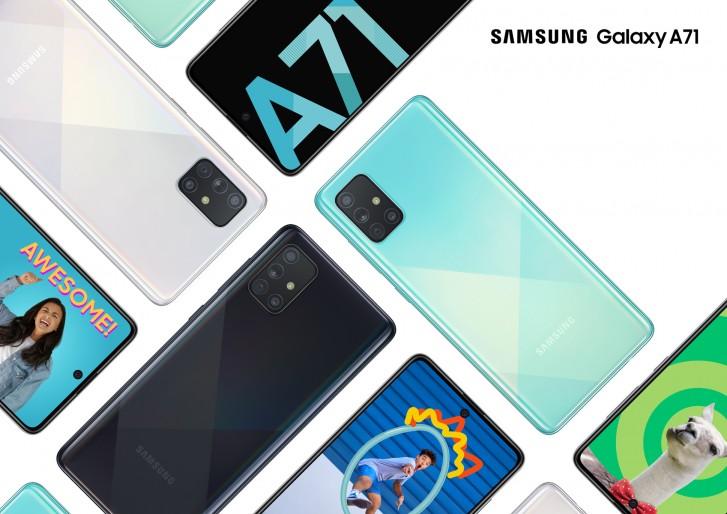 Samsung Galaxy A71 5G ju¿ oficjalnie w Stanach Zjednoczonych