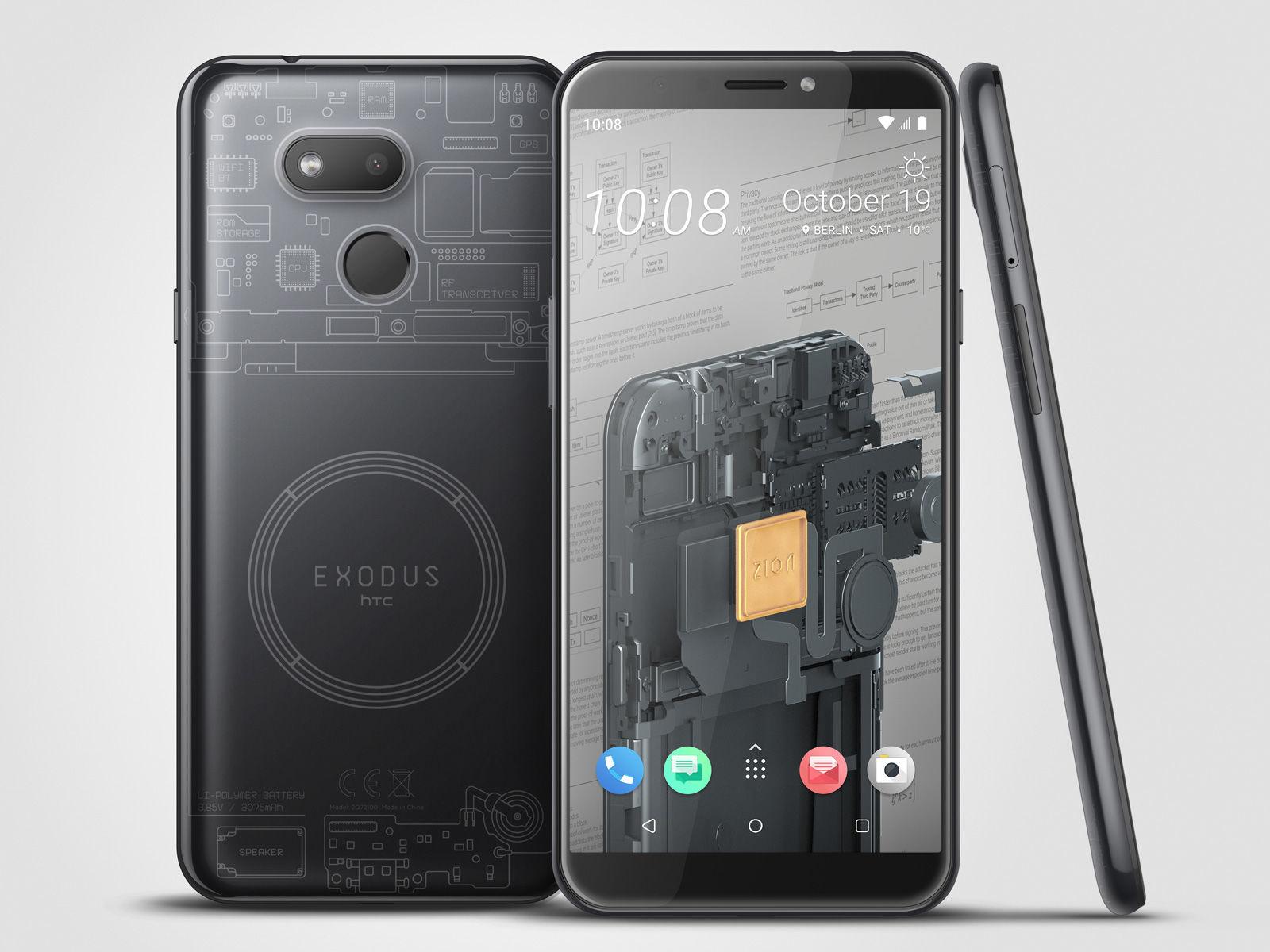 HTC Exodus 1s, bud¿etowiec z interesuj±c± funkcj±