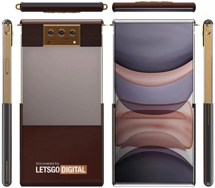 Projektant Tom Ford stworzy³ wizjê artystyczn± zwijanego smartfona Oppo ze zwijanym ekranem