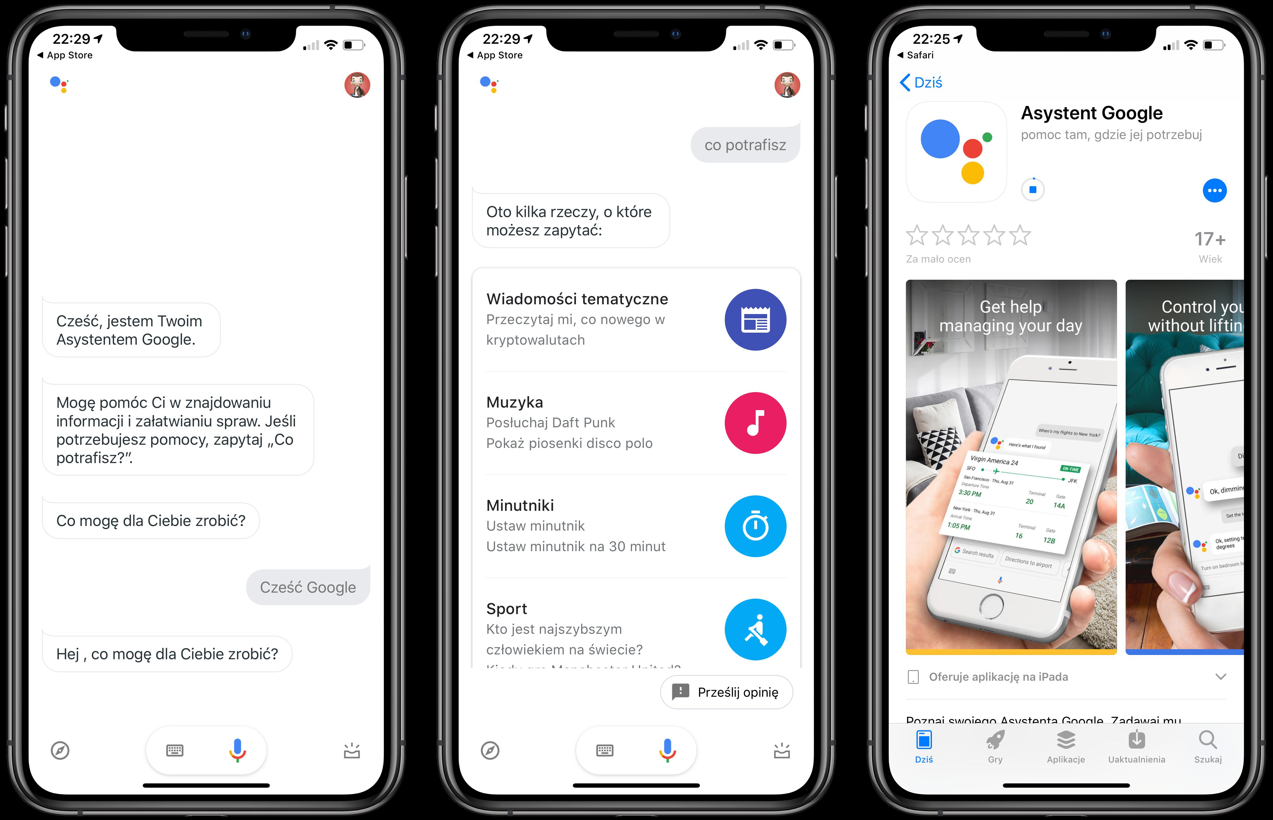 Polskojêzyczny Google Assistant w koñcu trafia na iPhony