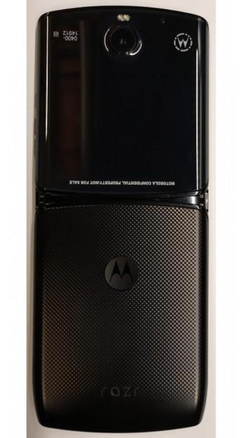 Motorola RAZR - pojawiaj± siê pierwsze zdjêcia tego modelu