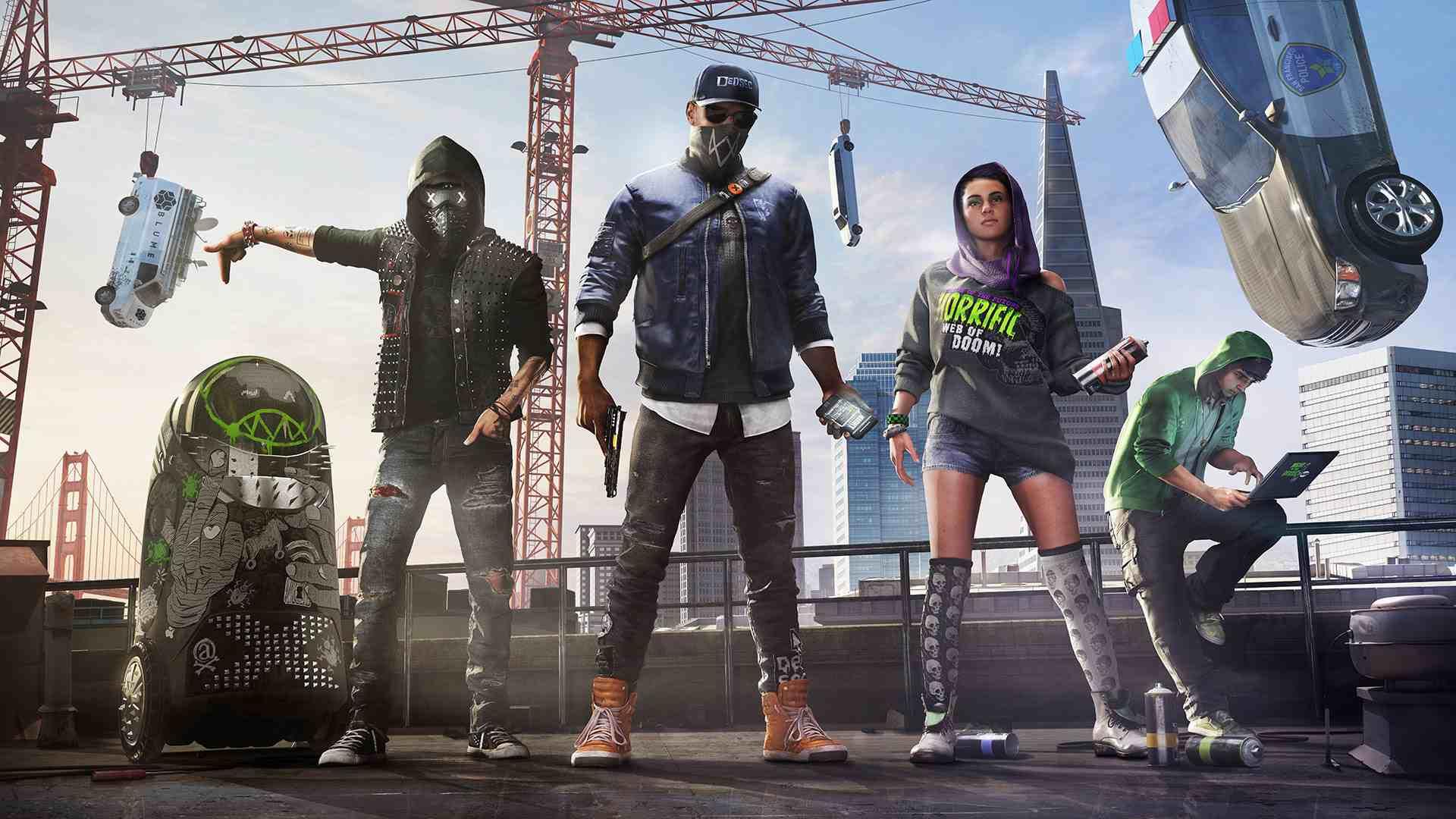 Ubisoft rozpieszcza swoich fanów, rozdaje darmowe kopie Watch Dogs 2 na PC