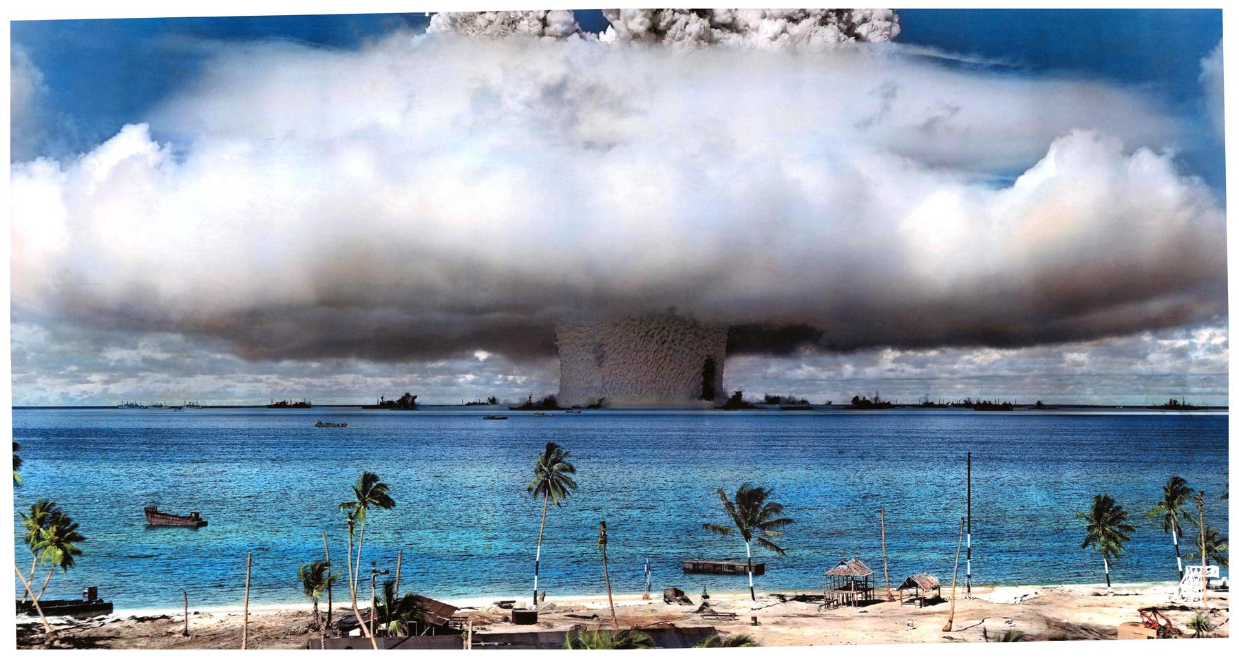Chcieli¶cie obejrzeæ stary test bomby nuklearnej w kolorze? Teraz mo¿ecie