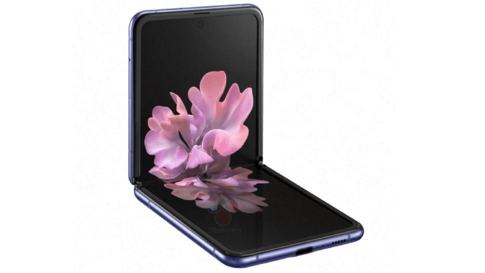Wyciek³y nowe zdjêcie i specyfikacja Samsung Galaxy Z Flip