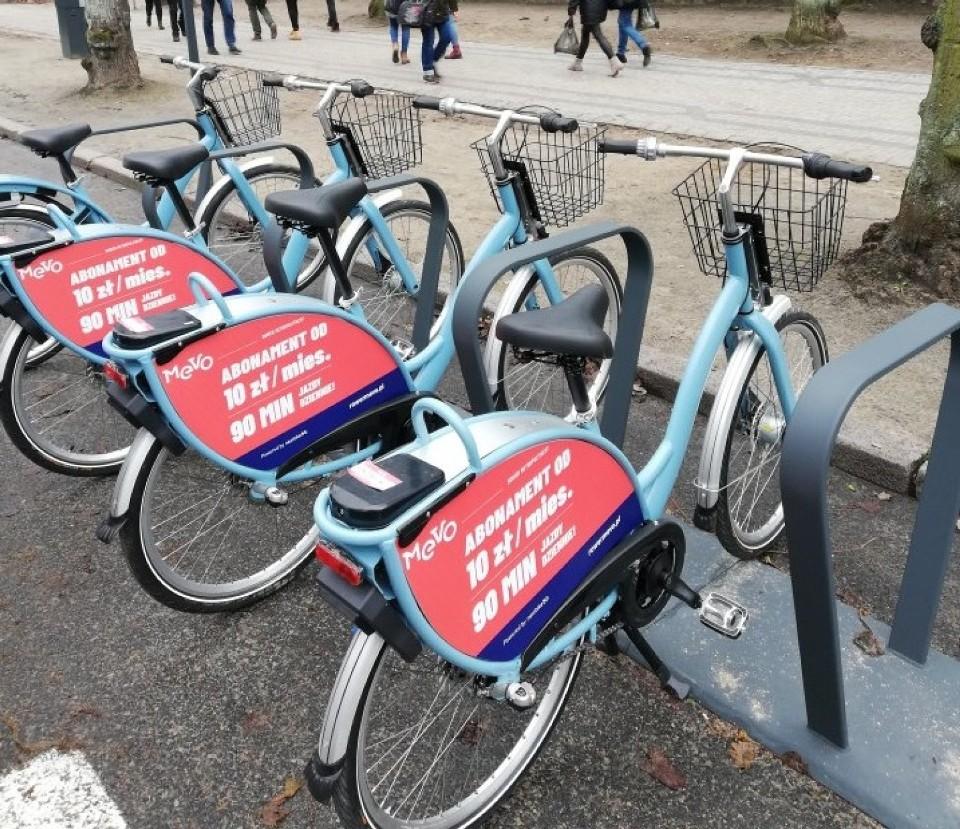 Trójmiejska wypo¿yczalnia rowerów MEVO upad³a