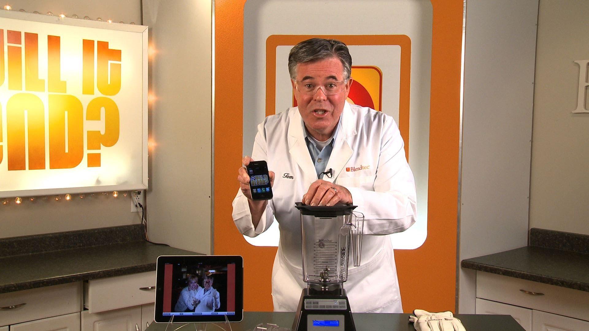 iPhone X w mikserze. Polecam