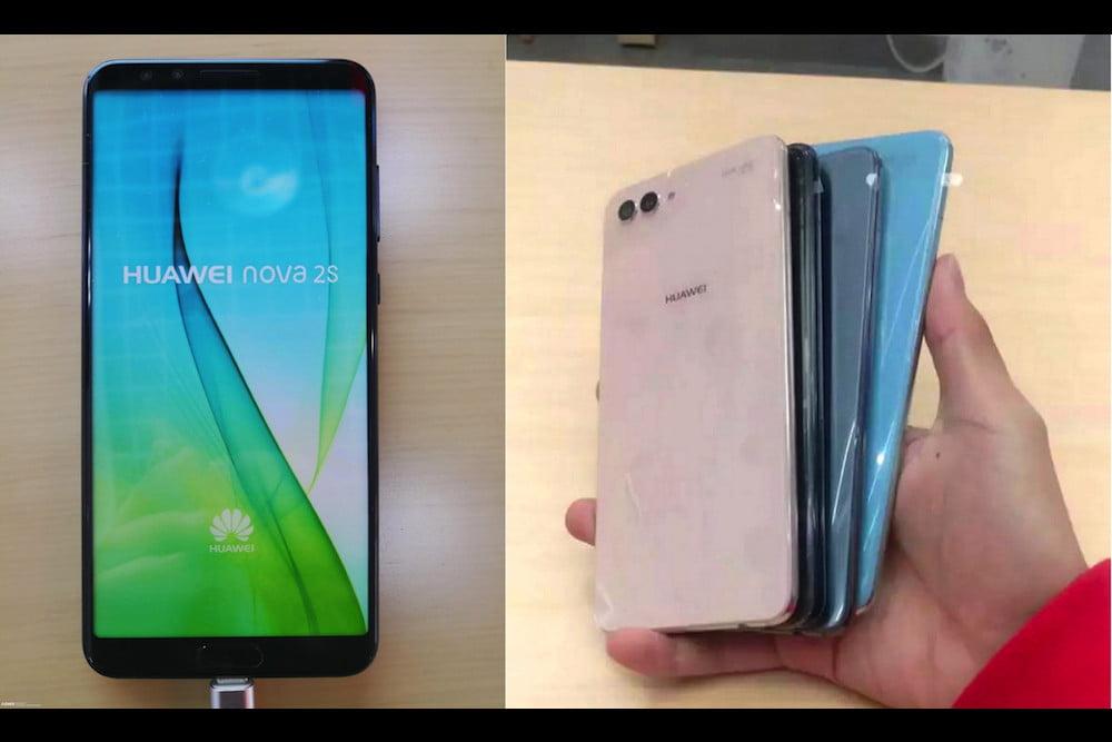 Wyciek³y zdjêcia Huawei Nova 2S. Wygl±da nawet, nawet