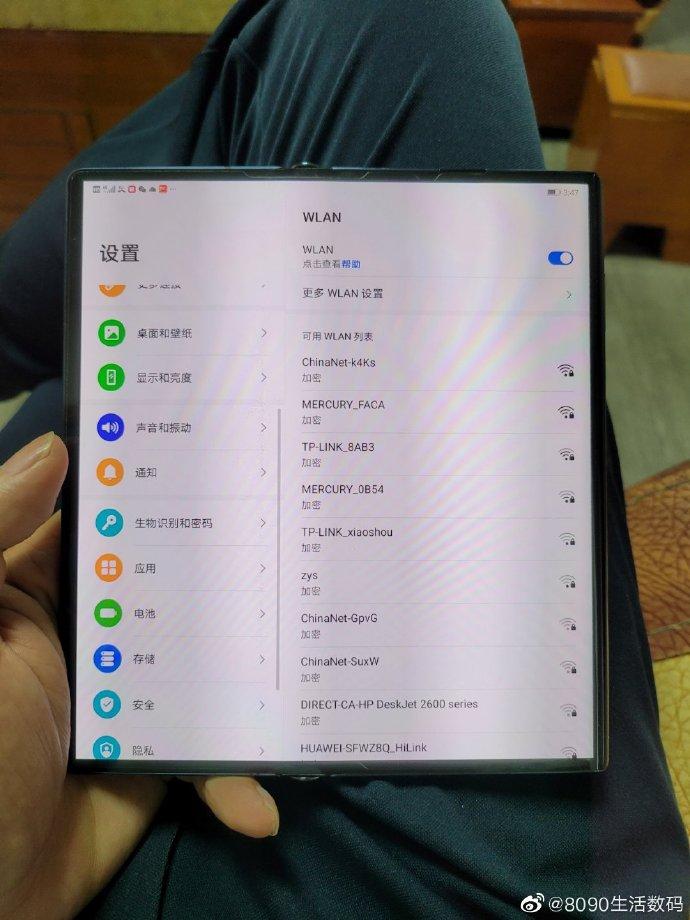 Huawei Mate X2, zdjêcie i informacje na temat sk³adanego smartfonu